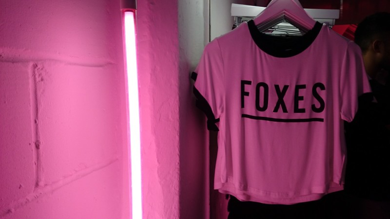 foxes t shirt