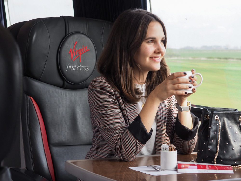 Virgin trains East Coast first class
