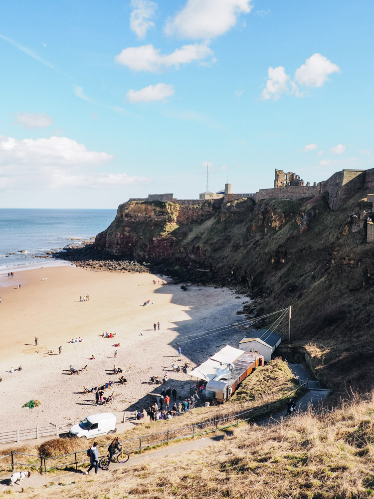tynemouth priory beach 2