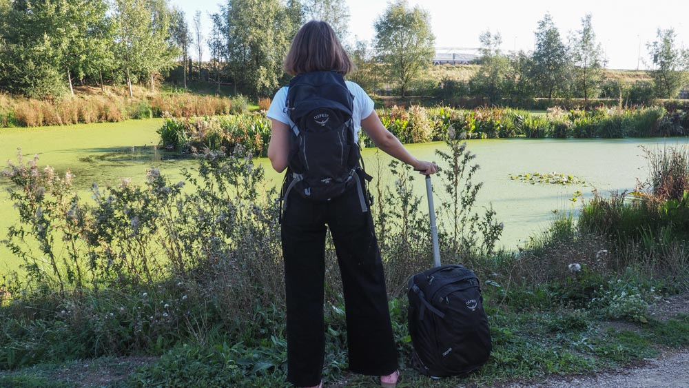 osprey backpack and suitcase review